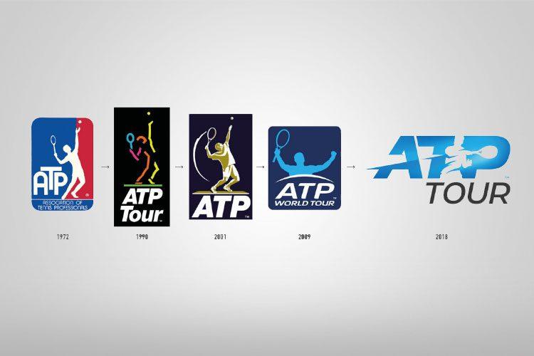 La evolución del Logo de la ATP