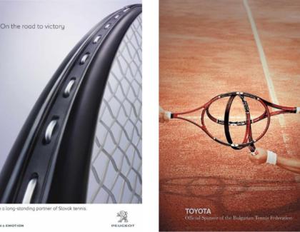 Tenis sobre ruedas: 10 publicidades de autos relacionadas al deporte