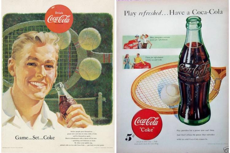 Game, Set, Coke: 10 publicidades de la gaseosa más famosa del mundo junto al tenis