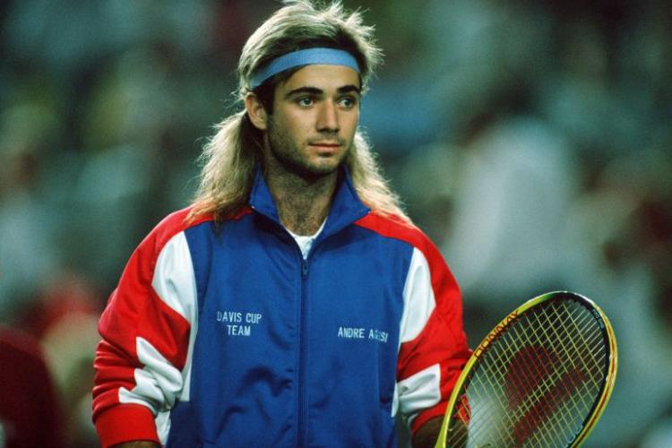 Un día como hoy: Andre Agassi completaba su debut en Copa Davis para Estados Unidos