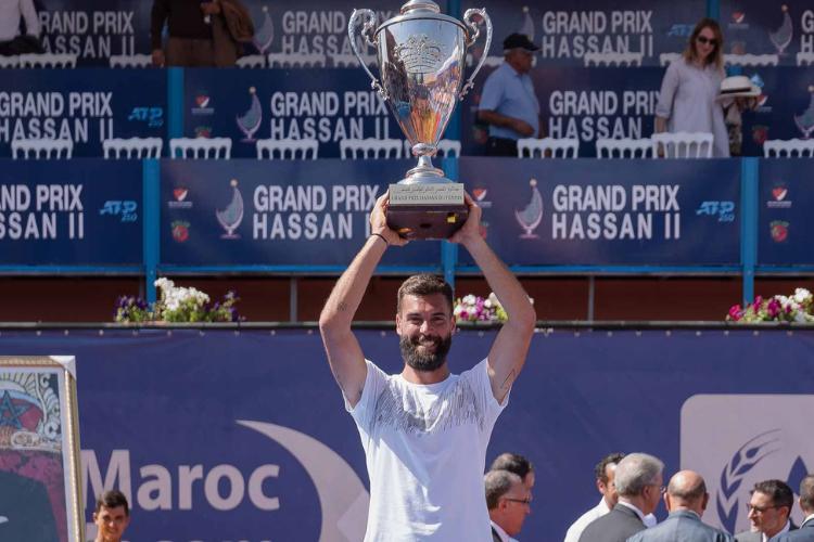 Benoit Paire se consagró campeón ATP 250 en Marrakech