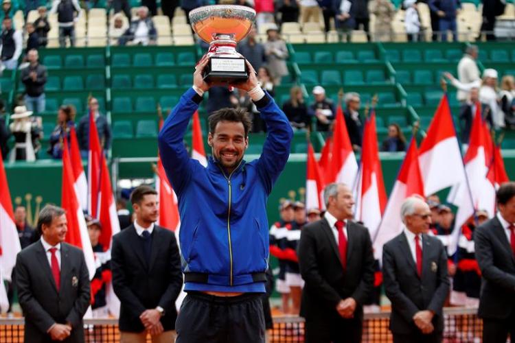Fabio Fognini se consagró campeón Masters 1000 en Monte-Carlo