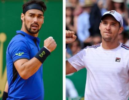 Fognini y Lajovic: Hot Shots de la final en el Masters 1000 de Montecarlo