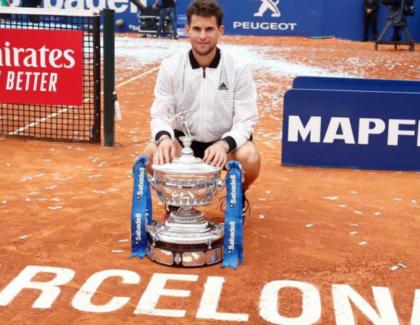 Dominic Thiem se consagró campeón ATP 500 Barcelona