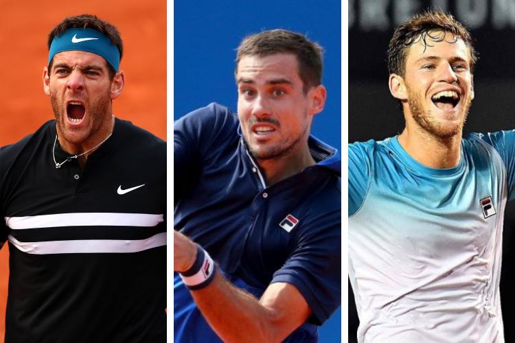 Ranking ATP (Singles) del 26 de Agosto de 2019 (Argentinos)