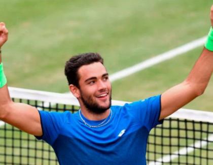 Matteo Berrettini se consagró campeón ATP 250 Stuttgart