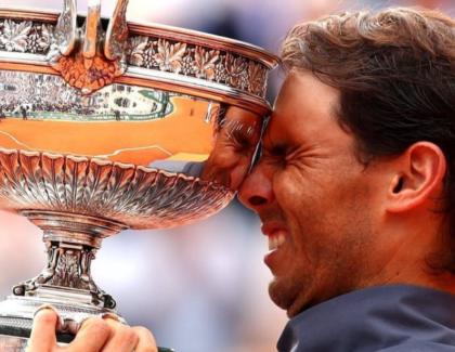 Rafael Nadal nuevamente campeón en Roland Garros