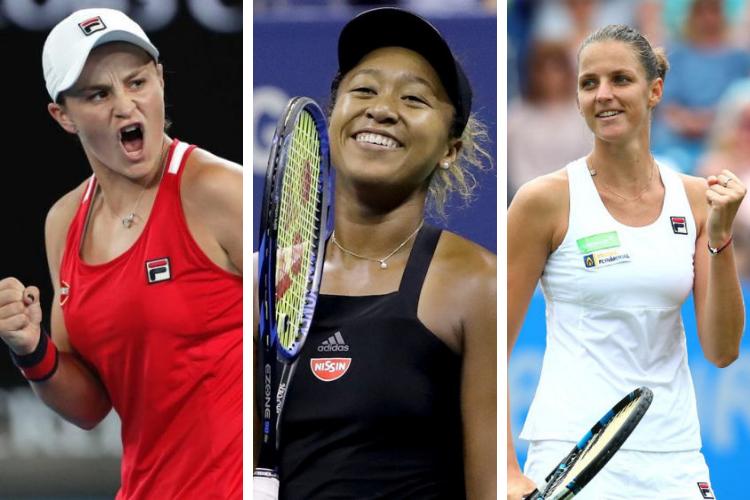 Ranking WTA (Singles) del 15 de Julio de 2019