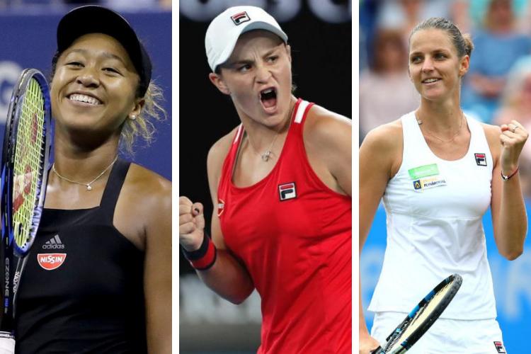 Ranking WTA (Singles) del 10 de Junio de 2019