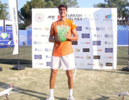 Lorenzo Sonego se consagró campeón ATP 250 Antalya