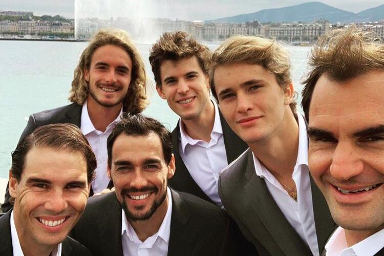 Laver Cup: Team Europe en las redes