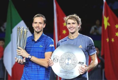 Daniil Medvedev y su título en el Masters 1000 de Shanghai