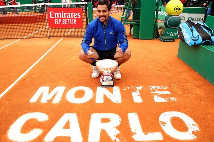 Abril: Monte Carlo fue para Fabio Fognini