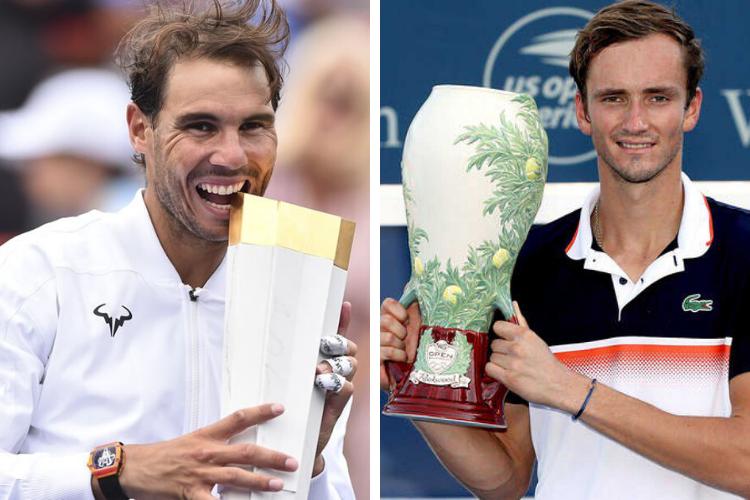 Nadal y Medvedev, dueños de los Masters 1000 en Agosto