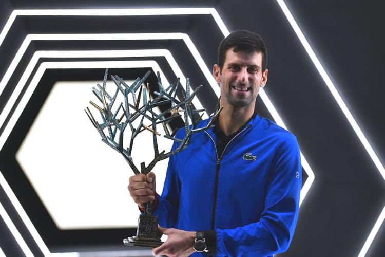 Novak Djokovic se consagró campeón del Masters 1000 de París