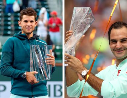 Thiem y Federer, dueños de los Masters 1000 en Marzo