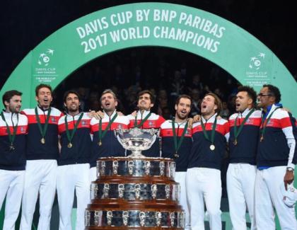 Ranking Copa Davis del 25 de Noviembre de 2019