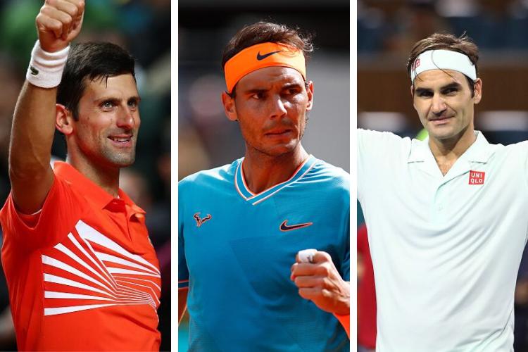 Head 2 Head: Djokovic, Nadal y Federer
