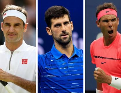 Big Three: Federer, Djokovic y Nadal