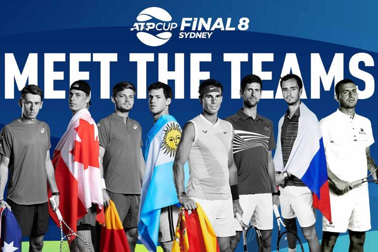 ATP Cup 2020: calendario y resultados
